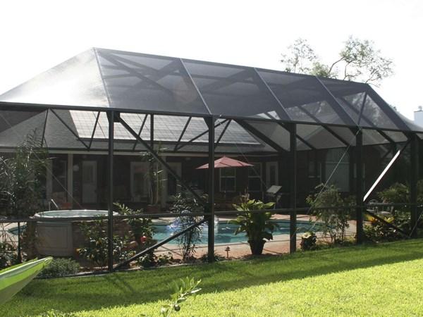 Maison piscine floride