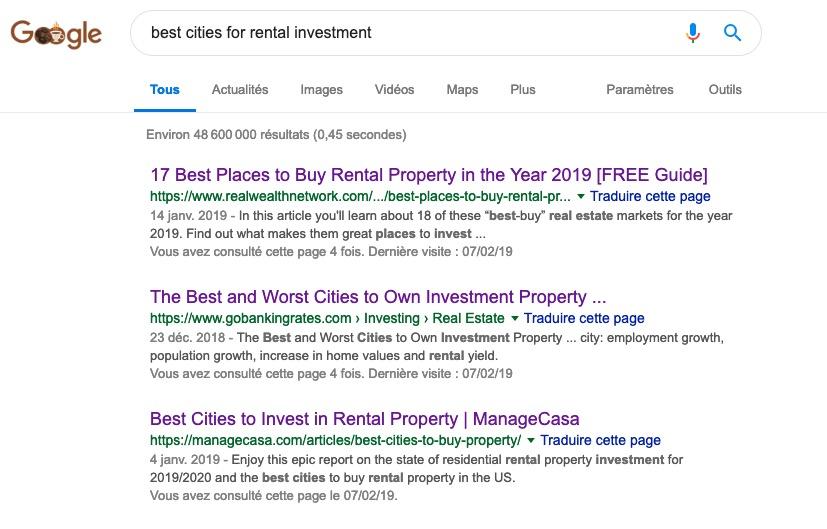 investissement locatif Orlando, Floride, Etats Unis